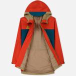 Мужская куртка ветровка Nike ACG Habanero Red/Geode Teal/Parachute Beige фото- 2