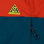 Мужская куртка ветровка Nike ACG Habanero Red/Geode Teal/Parachute Beige фото- 4
