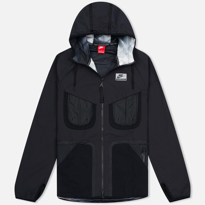 Мужская куртка ветровка Nike International Hooded Black