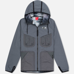 Nike International Hooded Men's Windbreaker Dark Grey photo- 0