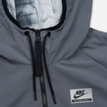 Nike International Hooded Men's Windbreaker Dark Grey photo- 6