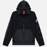 Мужская куртка ветровка Nike International Hoodie Black фото- 0