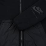 Мужская куртка ветровка Nike International Hoodie Black фото- 3
