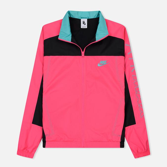 08b51d75 Мужская куртка ветровка Nike x atmos NRG Vintage Patchwork Hyper  Pink/Black/Hyper Jade ...