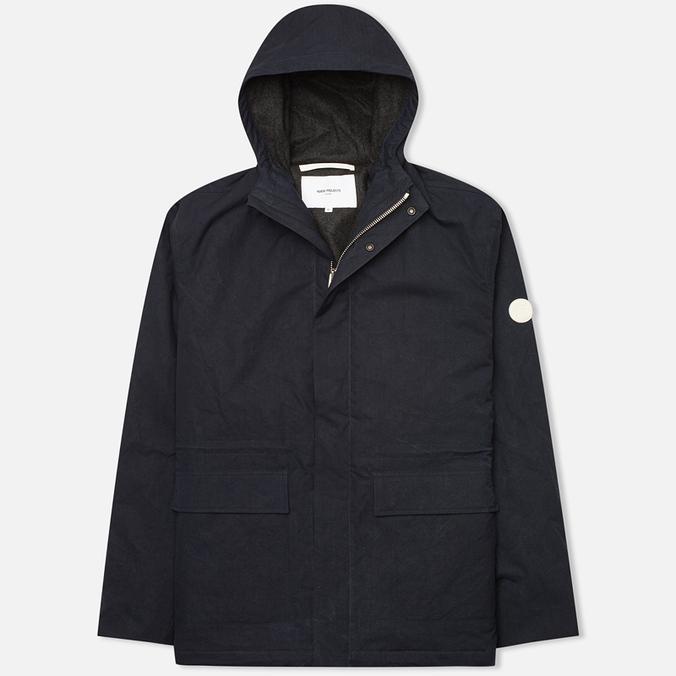 Мужская куртка ветровка Norse Projects Nunk Classic Dark Navy
