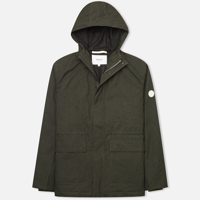 Norse Projects Nunk Classic Men's Windbreaker Rosin Green
