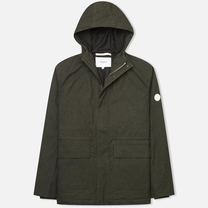 Мужская куртка ветровка Norse Projects Nunk Classic Rosin Green
