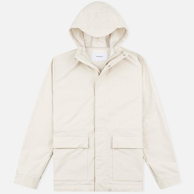Мужская куртка ветровка Norse Projects Nunk Summer Cotton Ecru