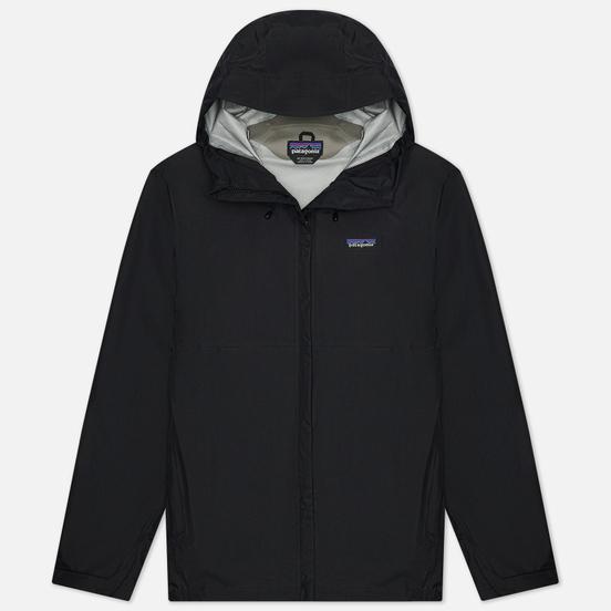 Мужская куртка ветровка Patagonia Torrentshell 3L Black