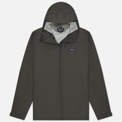 Мужская куртка ветровка Patagonia Torrentshell 3L Forge Grey
