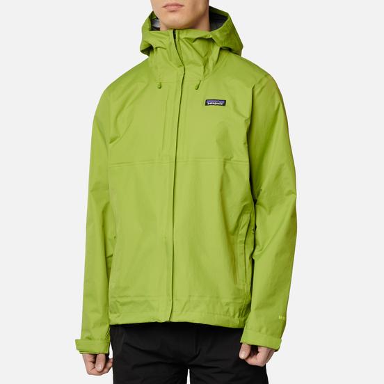 Мужская куртка ветровка Patagonia Torrentshell 3L Supply Green