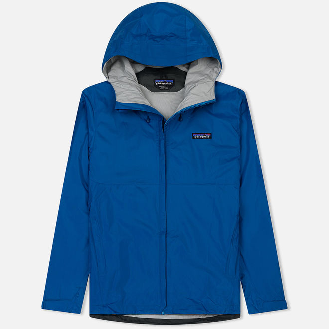 Мужская куртка ветровка Patagonia Torrentshell Balkan Blue