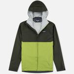 Мужская куртка ветровка Patagonia Torrentshell Kelp Forest/Supply Green фото- 0