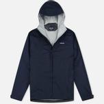 Мужская куртка ветровка Patagonia Torrentshell Navy Blue фото- 0