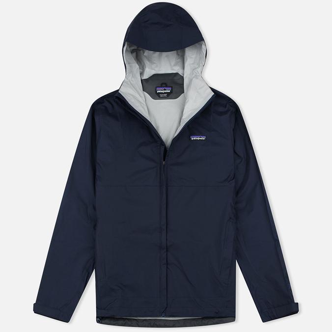 Мужская куртка ветровка Patagonia Torrentshell Navy Blue