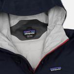 Мужская куртка ветровка Patagonia Torrentshell Navy Blue/Ramble Red фото- 1