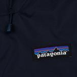 Мужская куртка ветровка Patagonia Torrentshell Navy Blue/Ramble Red фото- 3