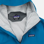 Мужская куртка ветровка Patagonia Torrentshell Underwater Blue/Navy Blue фото- 2
