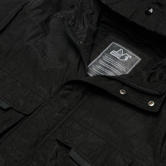 Мужская куртка ветровка Peaceful Hooligan Nathan Black