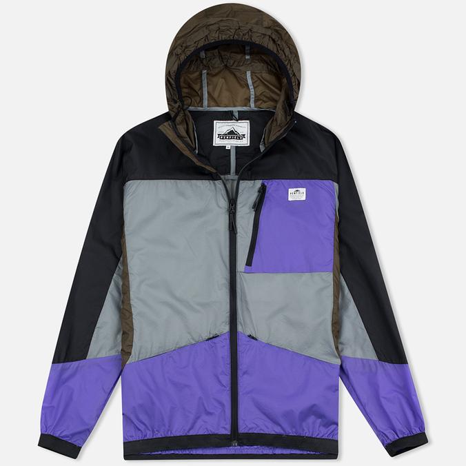 Мужская куртка ветровка Penfield Cranford Color Block Black
