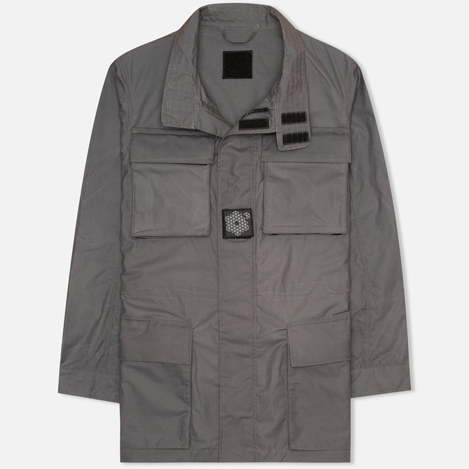 Plurimus Field Jacket Men's Windbreaker Grey