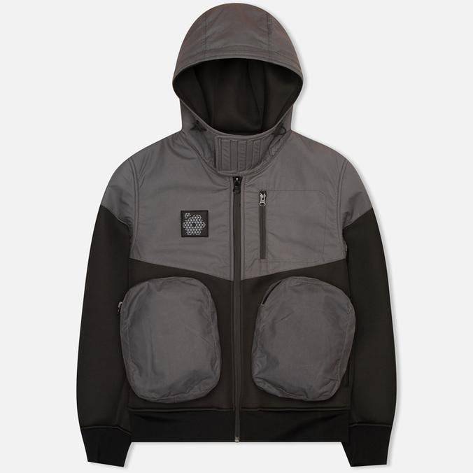 Мужская куртка ветровка Plurimus Softshell Grey