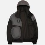 Мужская куртка ветровка Plurimus Softshell Grey фото- 1