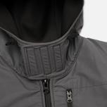 Мужская куртка ветровка Plurimus Softshell Grey фото- 2