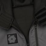 Мужская куртка ветровка Plurimus Softshell Grey фото- 4
