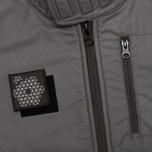 Мужская куртка ветровка Plurimus Softshell Grey фото- 5