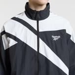 Мужская куртка ветровка Reebok Archive Vector Black/White фото- 3