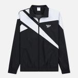 Мужская куртка ветровка Reebok Archive Vector Black/White фото- 0