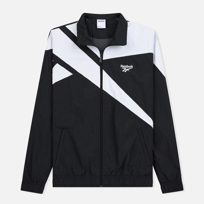 Мужская куртка ветровка Reebok Archive Vector Black/White