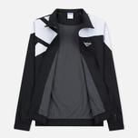 Мужская куртка ветровка Reebok Archive Vector Black/White фото- 1