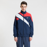 Мужская куртка ветровка Reebok Archive Vector Collegiate Navy/Primal Red фото- 2