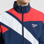 Мужская куртка ветровка Reebok Archive Vector Collegiate Navy/Primal Red фото- 3