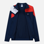 Мужская куртка ветровка Reebok Archive Vector Collegiate Navy/Primal Red фото- 1