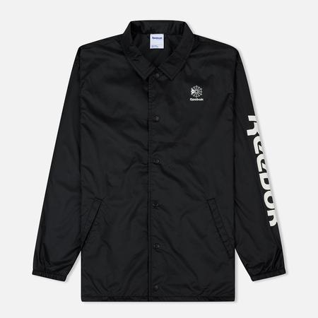 Мужская куртка ветровка Reebok Classics Graphic Pack Black