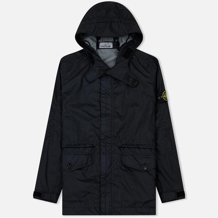 Мужская куртка ветровка Stone Island Membrana TC Lightweight Navy Blue