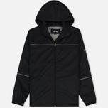 Мужская куртка ветровка Stussy 3M Ripstop Black фото- 0