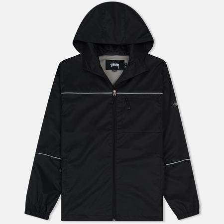 Мужская куртка ветровка Stussy 3M Ripstop Black