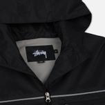 Мужская куртка ветровка Stussy 3M Ripstop Black фото- 1