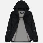 Мужская куртка ветровка Stussy 3M Ripstop Black фото- 2