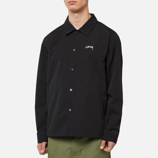 Мужская куртка ветровка Stussy Classic Coach Black