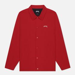 Мужская куртка ветровка Stussy Classic Coach Burnt Red