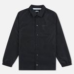 Мужская куртка ветровка Stussy Logo Coach Black фото- 0