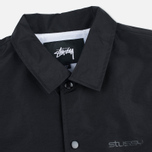 Мужская куртка ветровка Stussy Logo Coach Black фото- 2