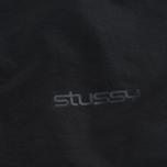 Мужская куртка ветровка Stussy Logo Coach Black фото- 3