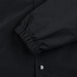 Мужская куртка ветровка Stussy Logo Coach Black фото- 4