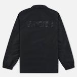Мужская куртка ветровка Stussy Logo Coach Black фото- 7